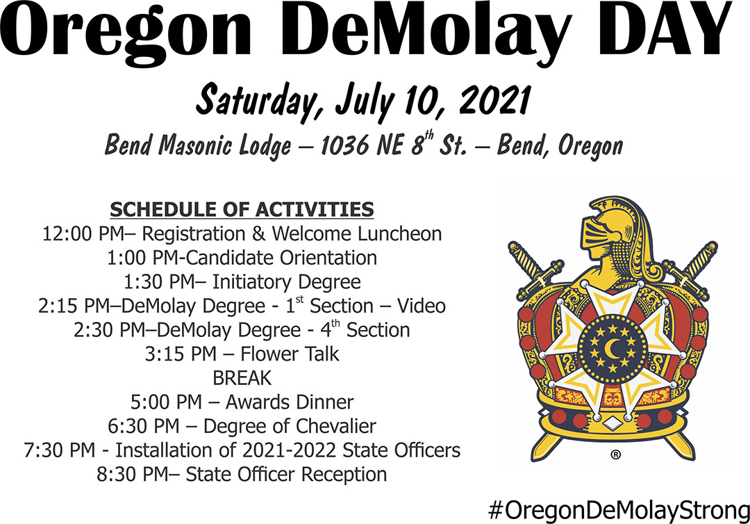 DeMolay Day Details